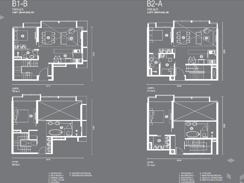 Expressionz公寓户型图