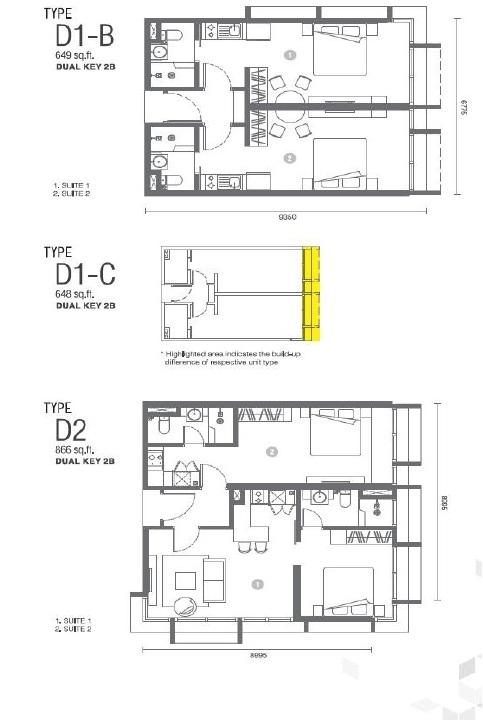 马来西亚Expressionz公寓户型图